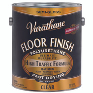 Varathane 130131 Clear Semi Gloss Premium Floor Finish Gallon Oil Based