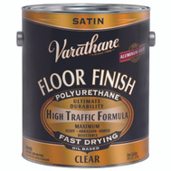 Varathane 130231 Clear Satin Premium Floor Finish Gallon Oil Based
