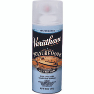 Varathane 200181 Crystal Clear Semi Gloss Polyurethane Water Based Spray