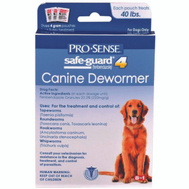 ProSense P-83072 Dewormer Dog Safeguard 4G/ 40 Pound