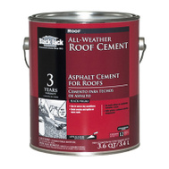 Gardner Gibson 6230-9-34 Black Jack Cement Roof All Weather 1 Gal