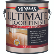 Minwax 13101 Crystal Clear Gloss Ultimate Floor Finish Gallon Water Based