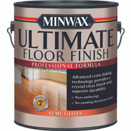 Minwax 13102 Crystal Clear Semi Gloss Ultimate Floor Finish Gallon Water Based