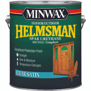 Minwax 3220 Helmsman Satin Spar Urethane VOC Gallon Oil Based