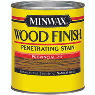 Minwax 22110 Provincial Wood Finish Penetrating Stain 1/2 Pint Oil Based