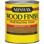 Minwax 22126 Driftwood Wood Finish Penetrating Stain 1/2 Pint Oil Based