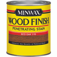 Minwax 22150 Red Oak Wood Finish Penetrating Stain 1/2 Pint Oil Based