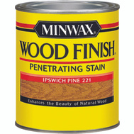 Minwax 22210 Ipswich Pine Wood Finish Penetrating Stain 1/2 Pint Oil Based