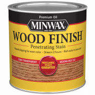 Minwax 22220 Sedona Red Wood Finish Penetrating Stain 1/2 Pint Oil Based
