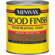 Minwax 22240 Special Walnut Wood Finish Penetrating Stain 1/2 Pint Oil Based