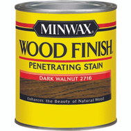 Minwax 22716 Dark Walnut Wood Finish Penetrating Stain 1/2 Pint Oil Based