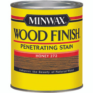 Minwax 22762 Honey Wood Finish Penetrating Stain 1/2 Pint Oil Based