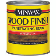 Minwax 22763 Espresso Wood Finish Penetrating Stain 1/2 Pint Oil Based