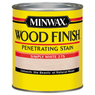 Minwax 227654444 Finish Wood Simply White 1/2Pt