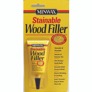 Minwax 42851 Stainable Wood Filler 1 Ounce Tube Latex Based