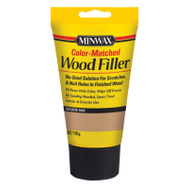 Minwax 448510000 Interior Exterior Wood Filler Golden Oak 6 Ounce