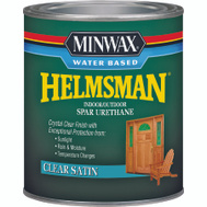 Minwax 63052 Helmsman Clear Satin Spar Urethane Quart Water Based