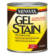 Minwax 660910000 Stain Gel Coffee Qt