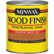 Minwax 70005 Colonial Maple Wood Finish Penetrating Stain Quart Oil Based