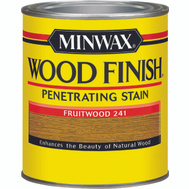 Minwax 70010 Fruitwood Wood Finish Penetrating Stain Quart Oil Based