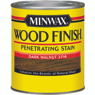 Minwax 70012 Dark Walnut Wood Finish Penetrating Stain Quart Oil Based