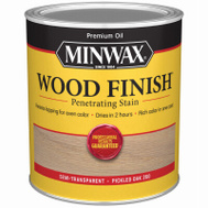 Minwax 70042 Pickled Oak Wood Finish Penetrating Stain Quart Oil Based