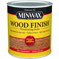 Minwax 70043 Sedona Red Wood Finish Penetrating Stain Quart Oil Based