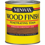 Minwax 70044 English Chestnut Wood Finish Penetrating Stain Quart Oil Based