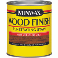 Minwax 70046 Red Chestnut Wood Finish Penetrating Stain Quart Oil Based