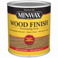 Minwax 70047 Weathered Oak Wood Finish Penetrating Stain Quart Oil Based