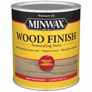 Minwax 70048 Classic Gray Wood Finish Penetrating Stain Quart Oil Based
