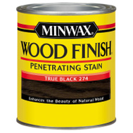 Minwax 700514444 Finish Wood True Black Qt