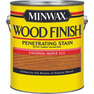 Minwax 71075 Colonial Maple Wood Finish 250 VOC Compliant Penetrating Stain Gallon Oil Based