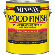 Minwax 71078 Early American Wood Finish 250 VOC Compliant Penetrating Stain Gallon Oil Based