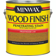 Minwax 71080 Fruitwood Wood Finish 250 VOC Compliant Penetrating Stain Gallon Oil Based