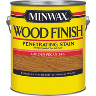 Minwax 71084 Golden Pecan Wood Finish 250 VOC Compliant Penetrating Stain Gallon Oil Based