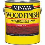 Minwax 71086 Sedona Redwood Wood Finish 250 VOC Compliant Penetrating Stain Gallon Oil Based