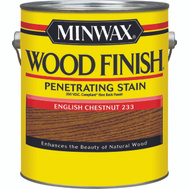 Minwax 71087 English Chestnut Wood Finish 250 VOC Compliant Penetrating Stain Gallon Oil Based