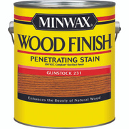 Minwax 71088 Gunstock Wood Finish 250 VOC Compliant Penetrating Stain Gallon Oil Based