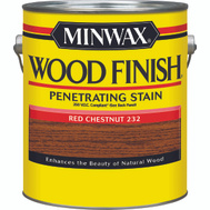 Minwax 71089 Red Chestnut Wood Finish 250 VOC Compliant Penetrating Stain Gallon Oil Based