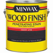 Minwax 710960000 Ebony Wood Finish 250 VOC Compliant Penetrating Stain Gallon Oil Based