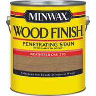 Minwax 71097 Weathered Oak Wood Finish 250 VOC Compliant Penetrating Stain Gallon Oil Based