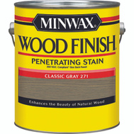 Minwax 71098 Classic Gray Wood Finish 250 VOC Compliant Penetrating Stain Gallon Oil Based