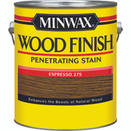 Minwax 71150 Espresso Wood Finish Penetrating Stain Gallon Oil Based