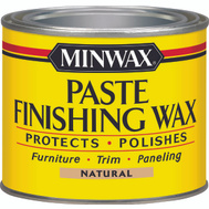 Minwax 78500 Natural Regular Paste Finishing Wax For Light Wood 1 Pound