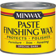 Minwax 78600 Special Dark Paste Finishing Wax For Dark Wood 1 Pound