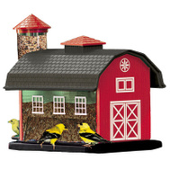 Woodlink 23960 Red Barn Combo Feeder