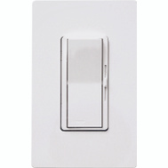 Lutron DVWCL-153PH-WH Diva CL White 150 Watt 3 Way Single Pole Dimmer For CFL & LED Lighting