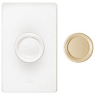 Lutron DNG-603PH-DK White Ivory Rotary Dimmer 3 Way