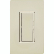 Lutron DVW-600PH-LA Diva 600 Watt Light Almond Single Pole Dimmer Switch
